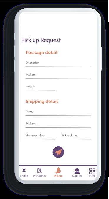 on demand courier app development